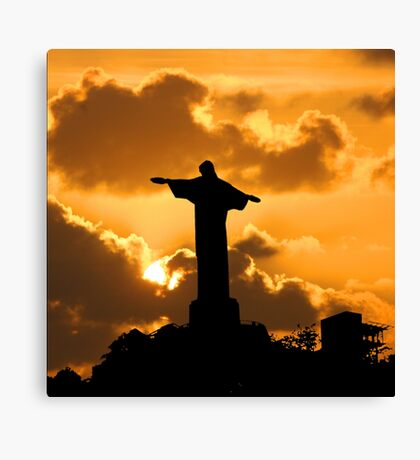 A Rio Icon Canvas Print