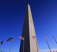 Washington Monument by Yashani Shantha