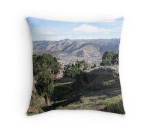 Cusco City Region, Peru, South America Throw Pillow