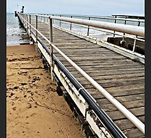 Clump Point Jetty, Mission Beach NQ by Giovanna Devlin