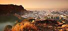 Badami Town I  by Vikram Franklin