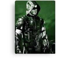 Green Arrow Render Canvas Print