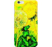 A flower in the wrong place iPhone Case/Skin