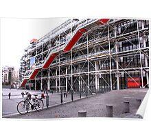 Pompidou Centre, Paris Poster