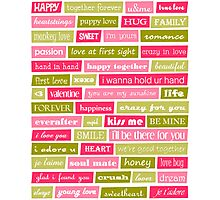 Love Letters Photographic Print