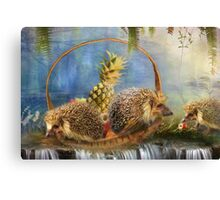 The Fruit Basket Thieves Canvas Print