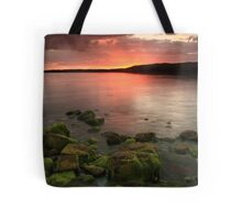 sunset at atlantic coast in ireland Tote Bag