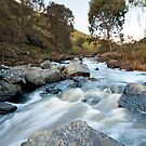 The Flowing Creek, Wando Vale, Victoria by Fiona Boundy