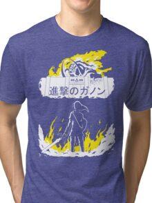 Attack on Ganon Tri-blend T-Shirt