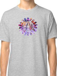 Star Flower Purple,  photography of shiny mosaic - JUSTART © Classic T-Shirt