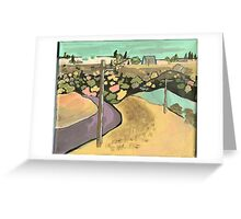 13th Street, Havre, Montana Greeting Card