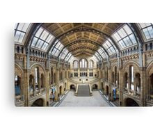 Natural History Museum - Hintze Hall Canvas Print