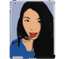FUNNY GIRL! iPad Case/Skin