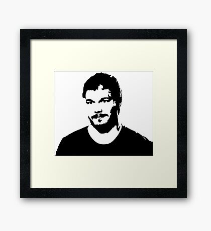 Andy Dwyer - Parks and Recreation Framed Print