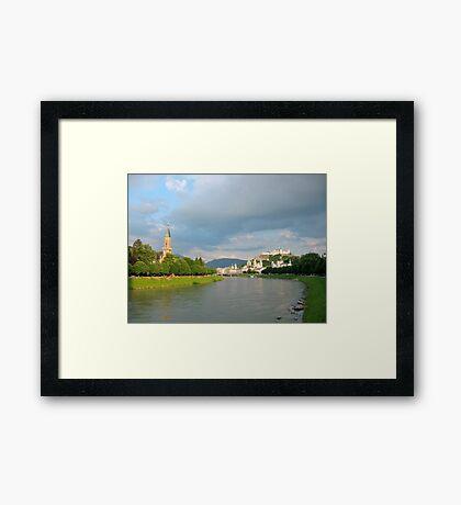 Salzburg - Austria Framed Print