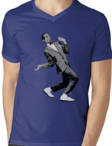 pw Mens V-Neck T-Shirt