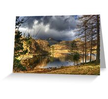 Blea Tarn Revisited Greeting Card
