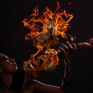 Dance me to your beauty with a burning violin  by AndyGii