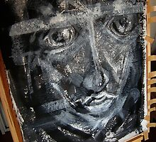 tomorrow's Joe.... early stages unfinished #2 by banrai