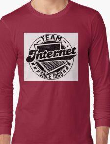 Team Internet Long Sleeve T-Shirt