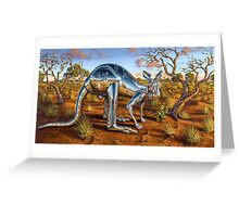 Lucky New Hope Kangaroo Greeting Card