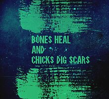 Bones and scars by Seabornsmite