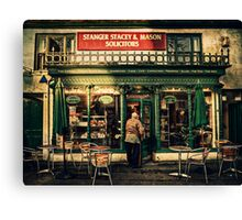 Another Place To Eat Canvas Print