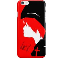 Hooded Red iPhone Case/Skin