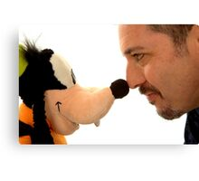 I heart goofy Canvas Print