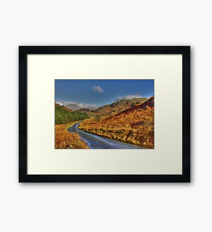 Duddon Valley Road  - Lake District Framed Print