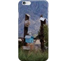Bird House Row iPhone Case/Skin