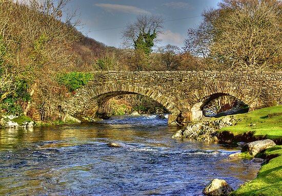 River Duddon Bridge - Lake District by Trevor Kersley