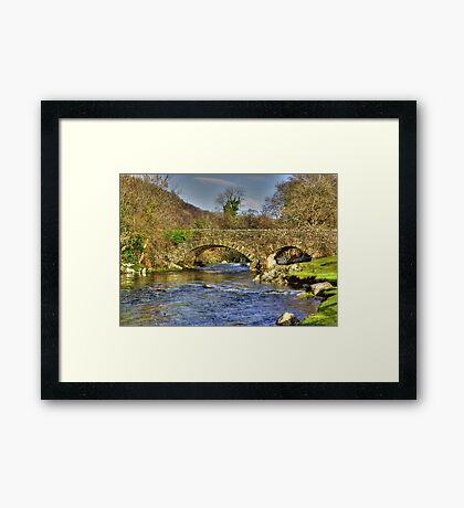 River Duddon Bridge - Lake District Framed Print