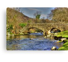River Duddon Bridge - Lake District Canvas Print