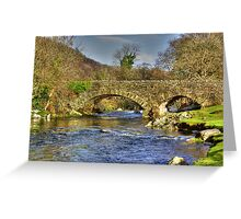 River Duddon Bridge - Lake District Greeting Card