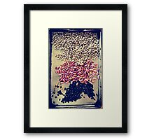The beans Framed Print