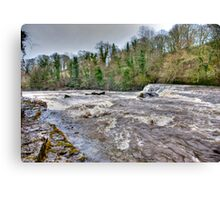 River Ure - Aysgarth-Yorks Dales Canvas Print