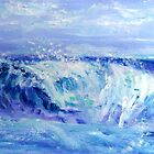  Blue Wave by Mary Sedici