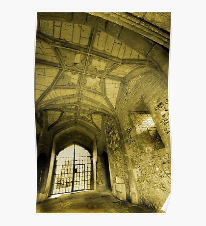 Gate House Interior - Donnington Castle Poster