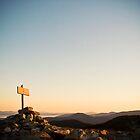 Sunrise, Saddleback Mountain, Maine by McSquishyface