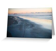 Sunrise, Popham Beach, Maine Greeting Card