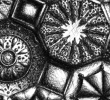 Octagons #1 Sticker