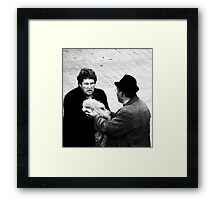 The Peace offering... Framed Print