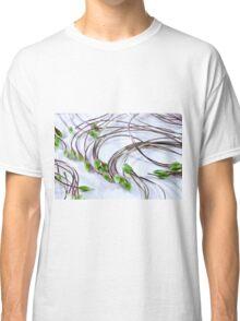 Clematis Seeds Macro  Classic T-Shirt
