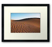 Saharan Dune Framed Print
