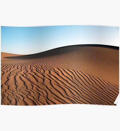 Saharan Dune Poster
