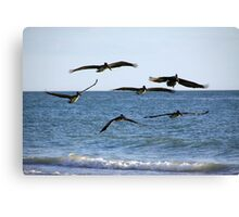 The Squadron Canvas Print