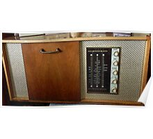 My new old radiogram! Poster