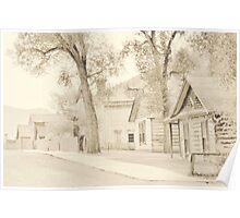 Bannack Historic District Poster
