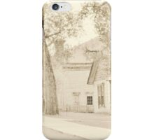 Bannack Historic District iPhone Case/Skin